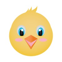 Baby chick face clipart picture library Icon Icons Chick Chicken Chickens Animal Animals Bird Birds Baby ... picture library
