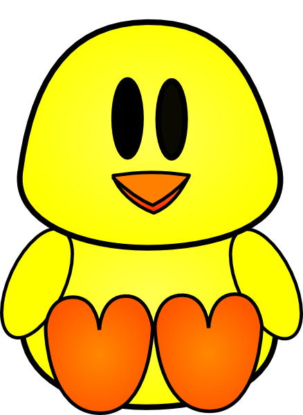 Baby chick face clipart vector free stock chicks cartoon pictures | Baby Chick clip art - vector clip art ... vector free stock