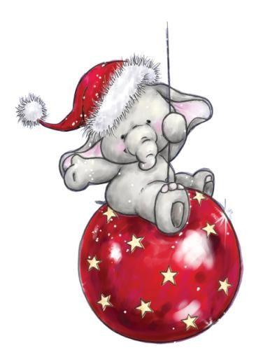 Baby christmas elephant clipart jpg library download Free Santa Elephant Cliparts, Download Free Clip Art, Free Clip Art ... jpg library download