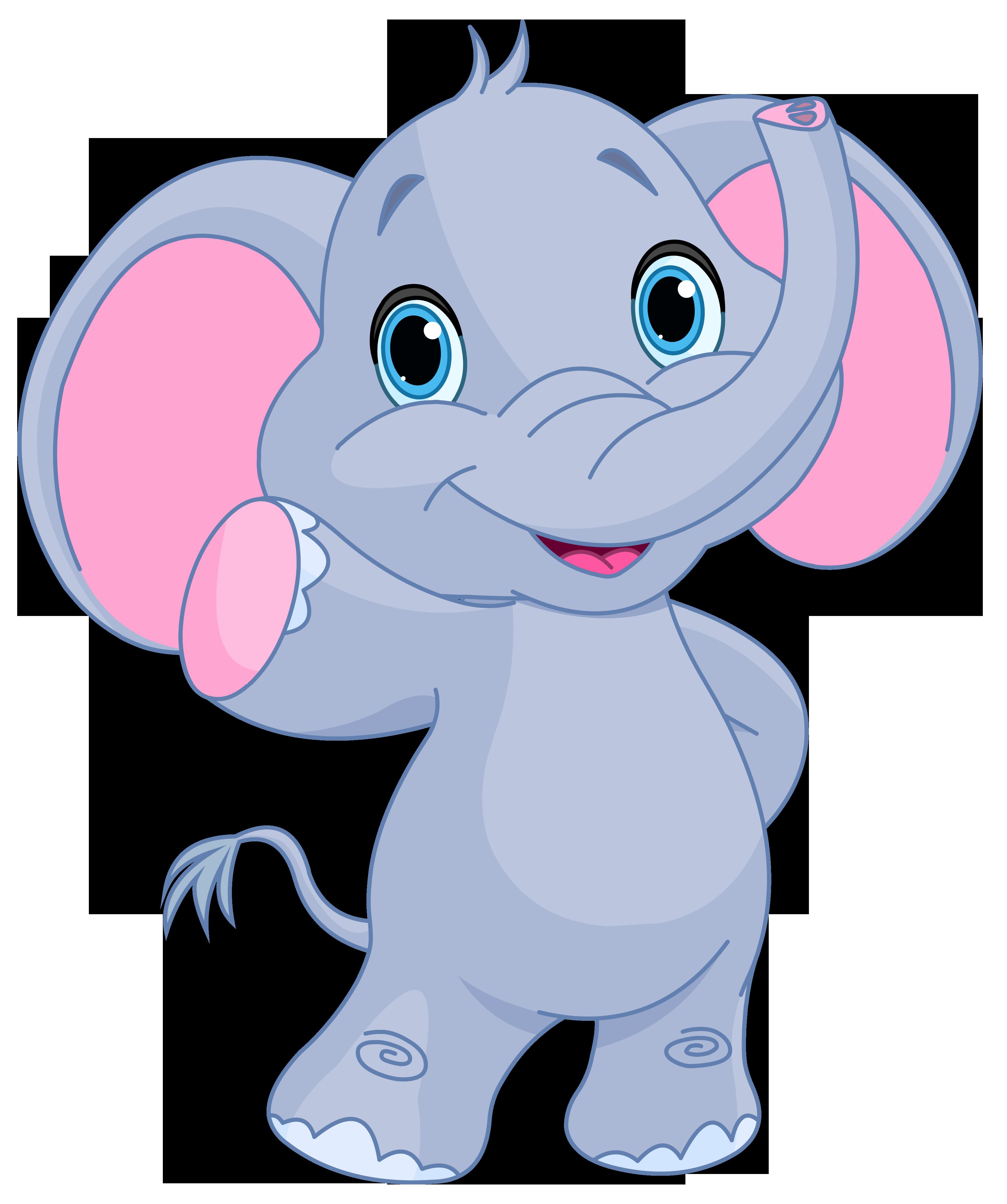 Baby christmas elephant clipart jpg free Cute elephant clipart image | GiRaFfE & eLePhAnT cLiP ArT | Cartoon ... jpg free