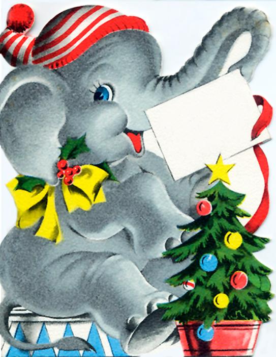 Baby christmas elephant clipart banner black and white stock Free Santa Elephant Cliparts, Download Free Clip Art, Free Clip Art ... banner black and white stock