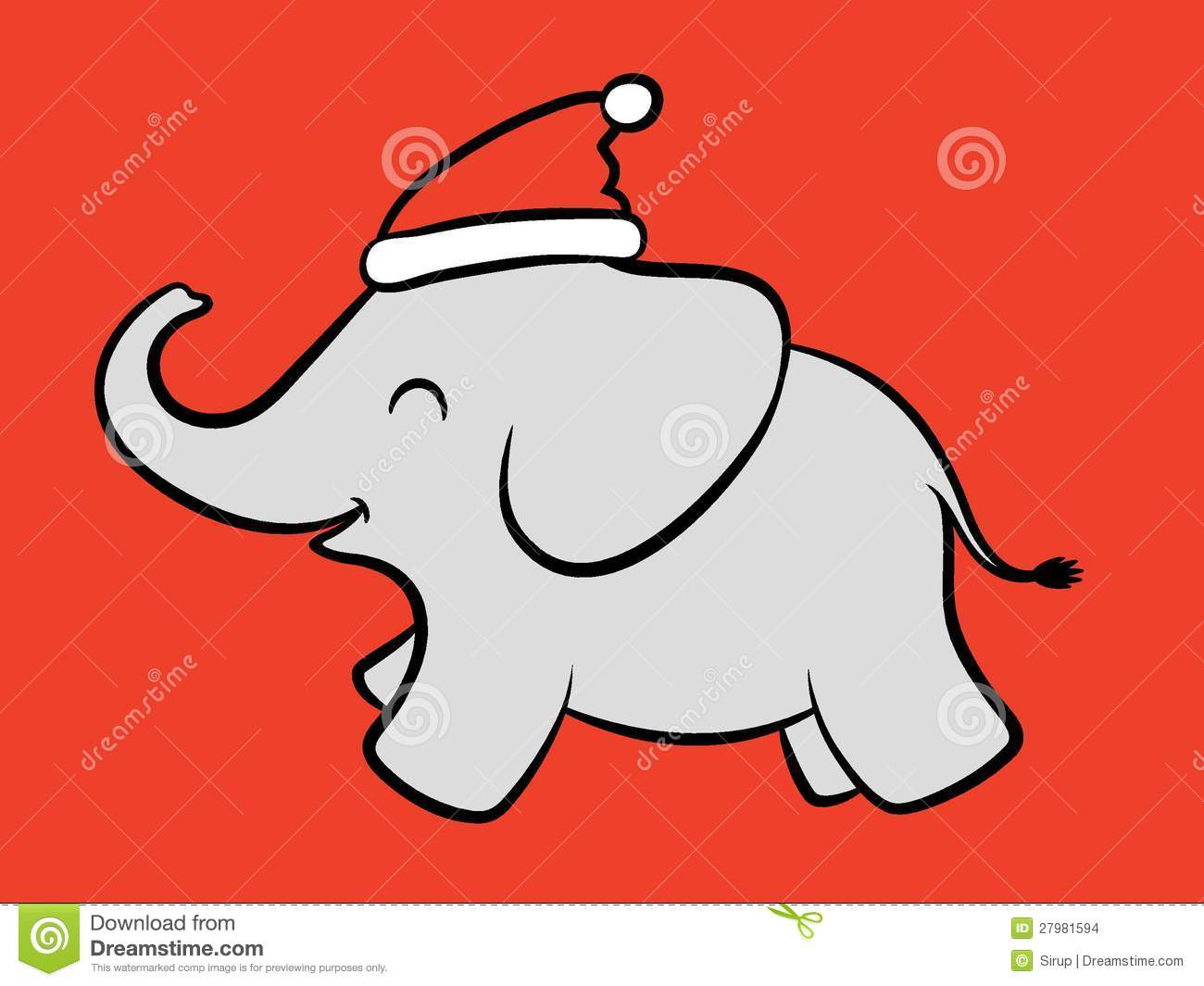 Baby christmas elephant clipart graphic library Collection of 14 free Elephants clipart christmas crabs clipart ... graphic library