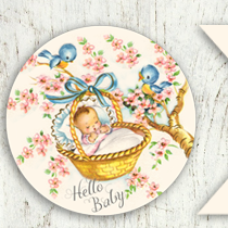 Free Vintage Baby Clip Art - Free Pretty Things For You clipart free download