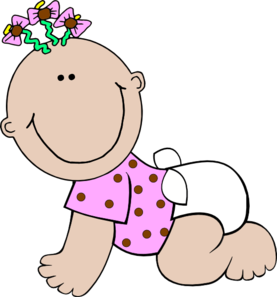 Baby clipart girl free. Cute pink carriage clip