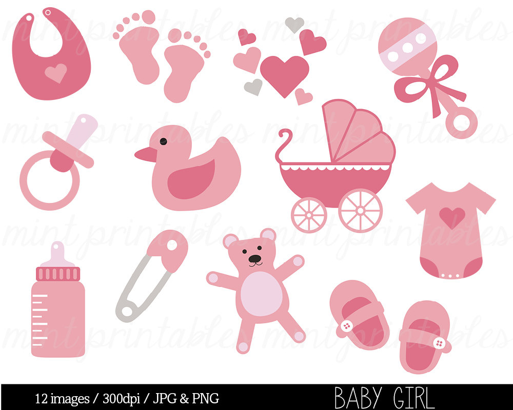 Baby clipart girl free graphic library Free baby girl clipart images - ClipartFest graphic library