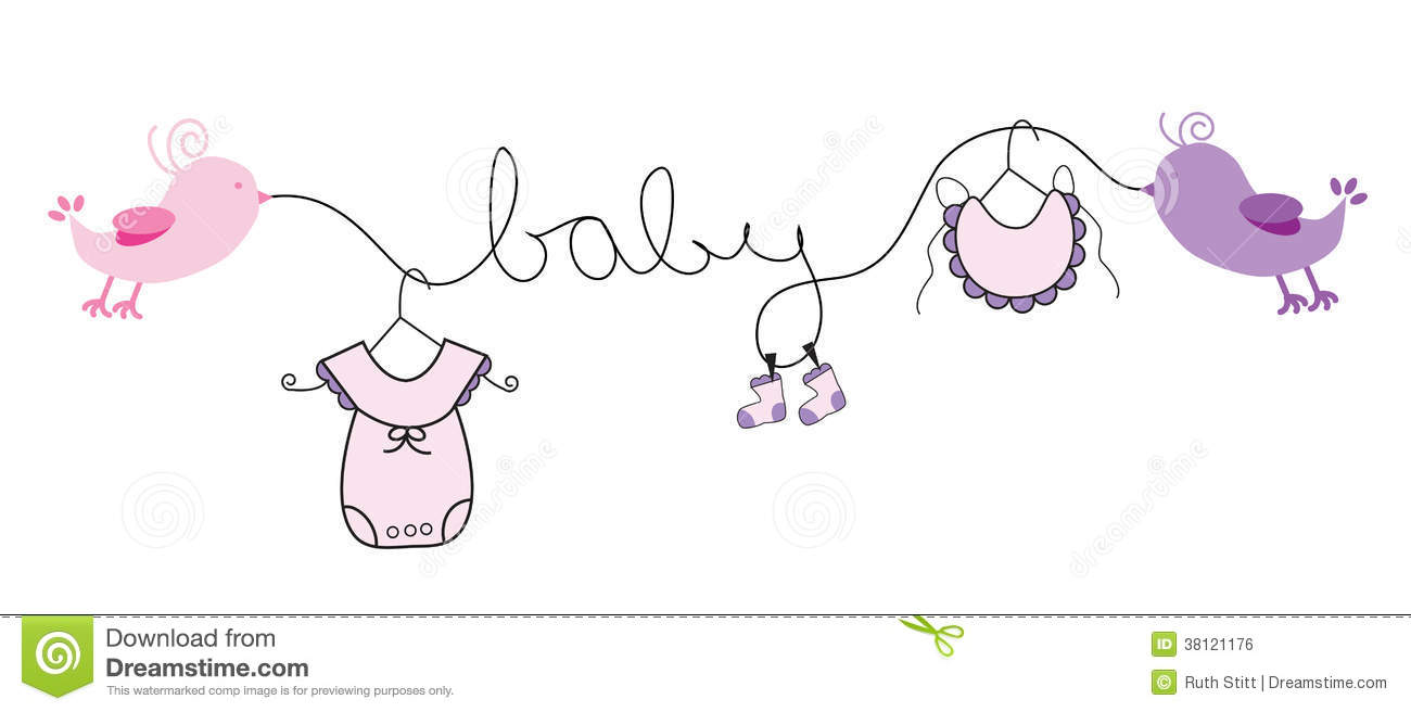 Baby clipart girl free vector royalty free Free baby girl clip art - ClipartFest vector royalty free