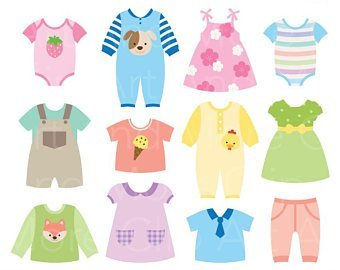 Baby clothes clipart clipart royalty free library Baby clothes clipart 1 » Clipart Portal clipart royalty free library