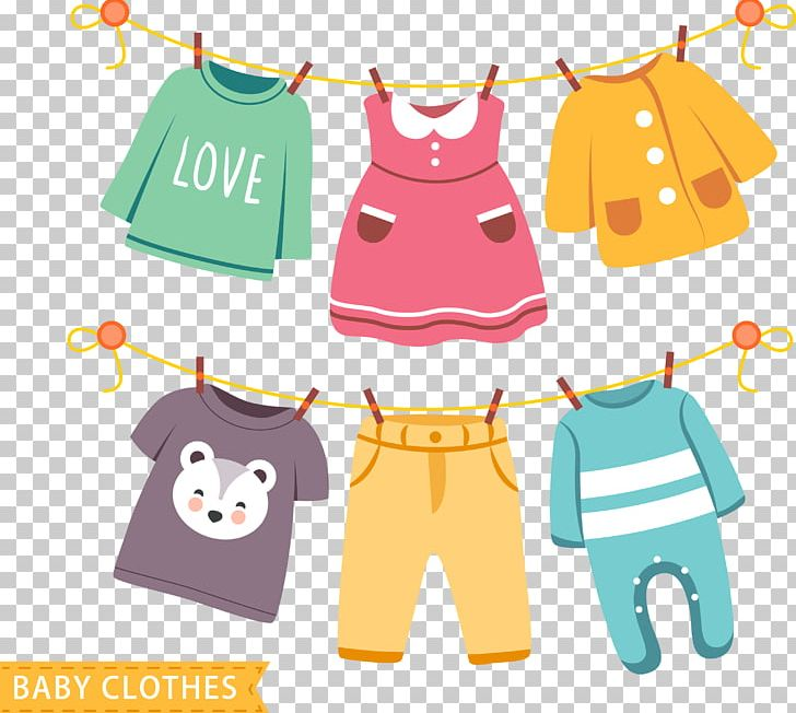 Baby clothes clipart vector royalty free stock Children\'s Clothing Dress Infant Clothing PNG, Clipart, Baby, Baby ... vector royalty free stock