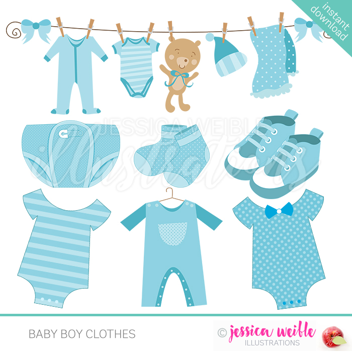 Baby clothes clipart image freeuse Baby Boy Clothes image freeuse