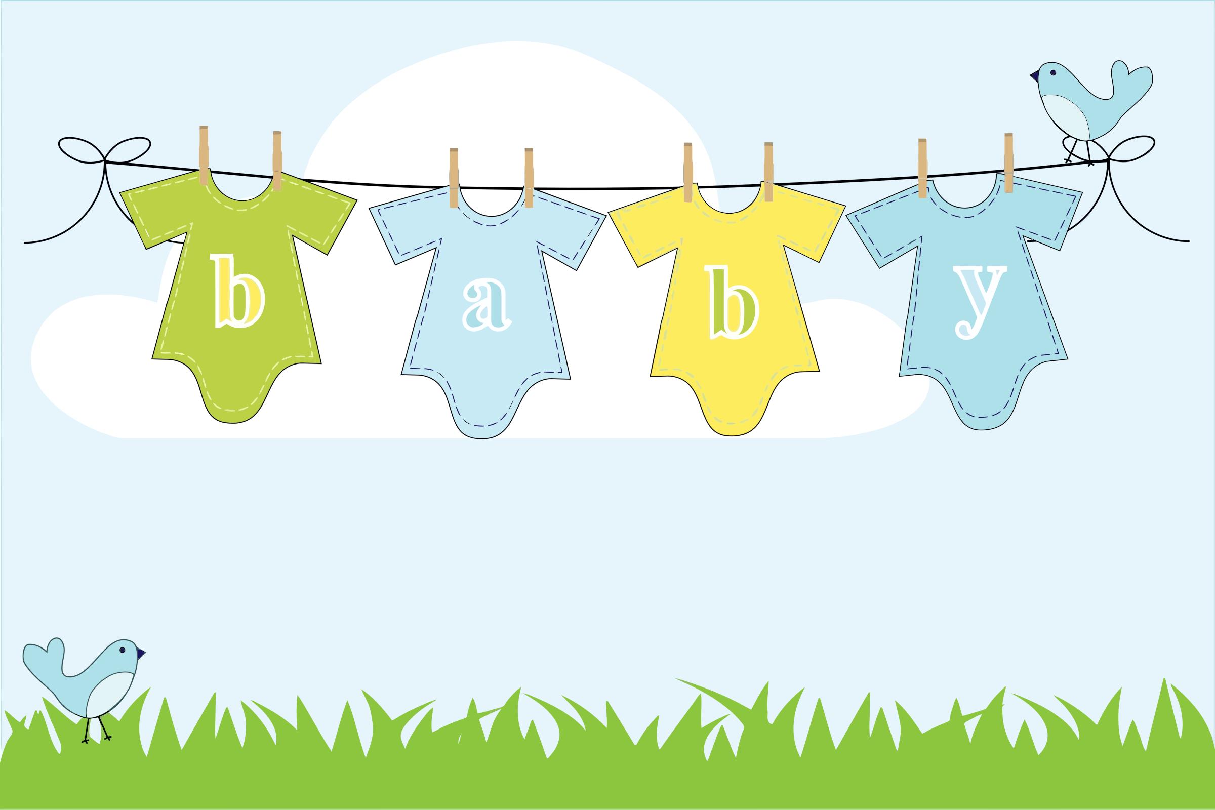 Baby clothes clipart clothes line transparent download Free Clothesline Cliparts, Download Free Clip Art, Free Clip Art on ... transparent download