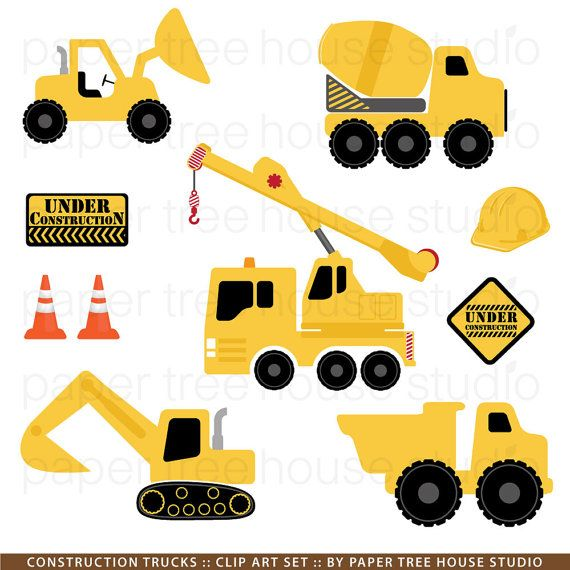 Baby construction trucks clipart clip transparent download Construction Trucks Clip Art. Excavator Clipart. Dump Truck Clipart ... clip transparent download