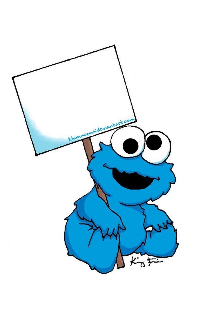 Baby cookie monster clipart picture freeuse Baby Cookie Monster | Zaion\'s 1st Birthday in 2019 | Cookie monster ... picture freeuse