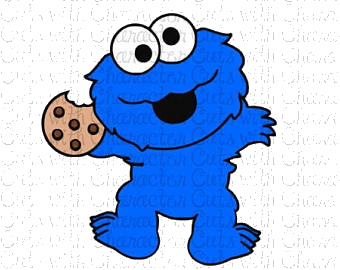 Baby cookie monster clipart freeuse download Cookie Monster Cookies Clipart Cilpart Lovely Design Baby Png - AZPng freeuse download