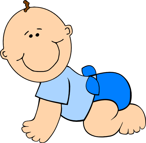 Baby crawling clipart free Free Cliparts Crawling Babies, Download Free Clip Art, Free Clip Art ... free