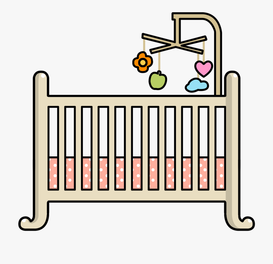 Baby crib clipart png image royalty free stock Baby Crib Clipart Png #956003 - Free Cliparts on ClipartWiki image royalty free stock