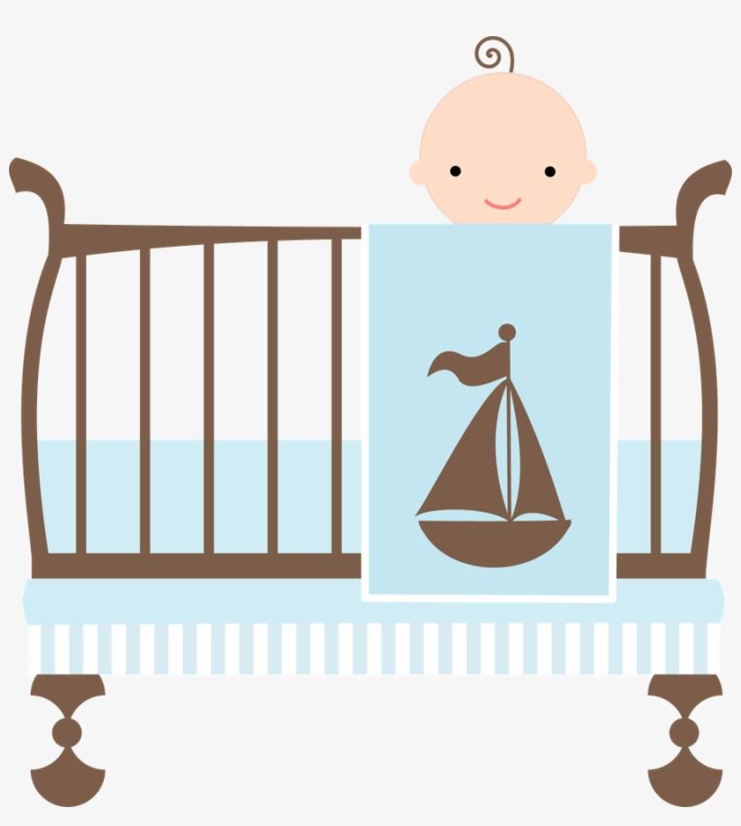 Baby crib clipart png jpg free library Crib Clipart Baby Boy Crib - Baby Shower Wording New Boy Mom - Free ... jpg free library