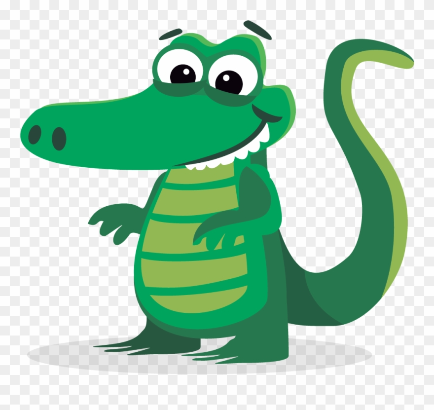 Baby crocodile clipart banner free stock Mascot - Baby Crocodile Png Hd Clipart Cartoon Transparent Png ... banner free stock