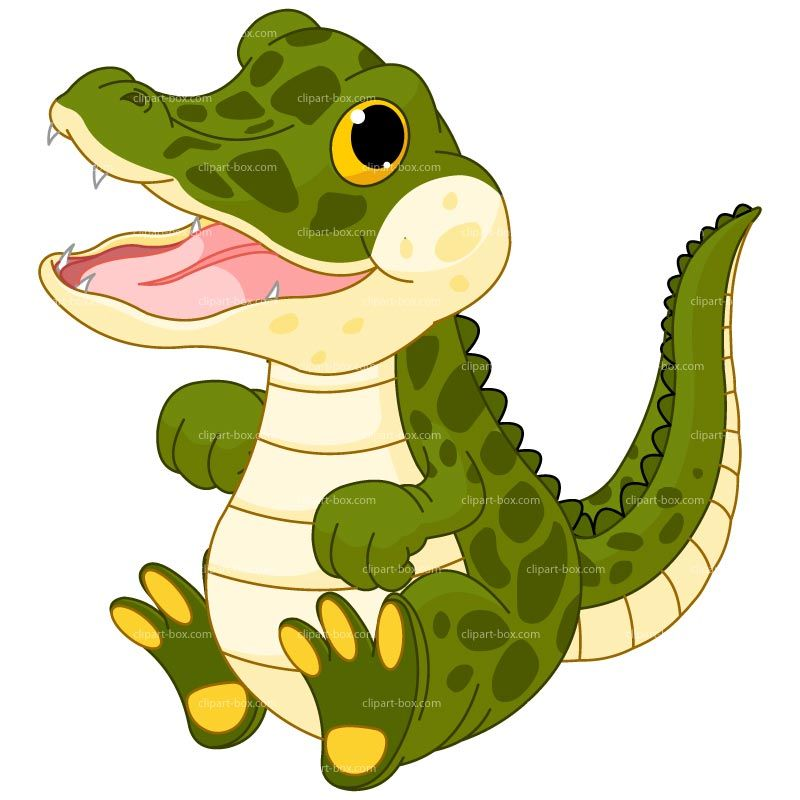 Baby crocodile clipart svg stock CLIPART BABY ALLIGATOR | Royalty free vector design | Vector | Baby ... svg stock
