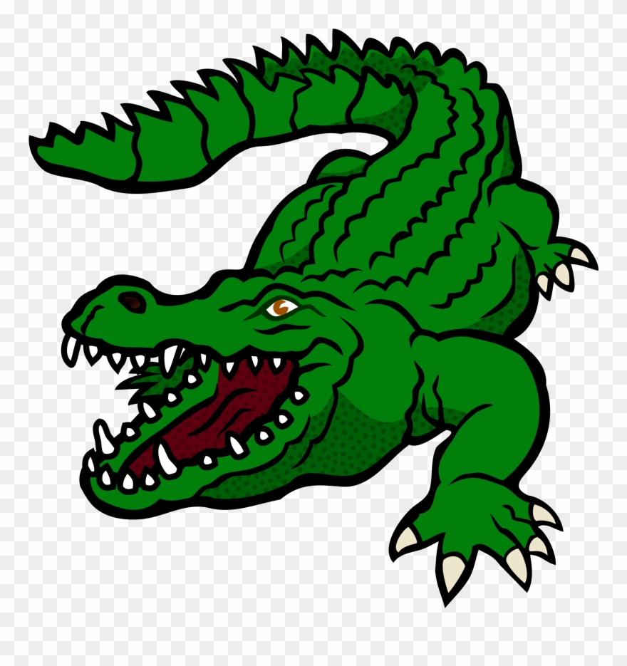 Baby crocodile swamp clipart png picture black and white Clipart - Crocodile - Coloured - Clipart Of Crocodile - Png Download ... picture black and white
