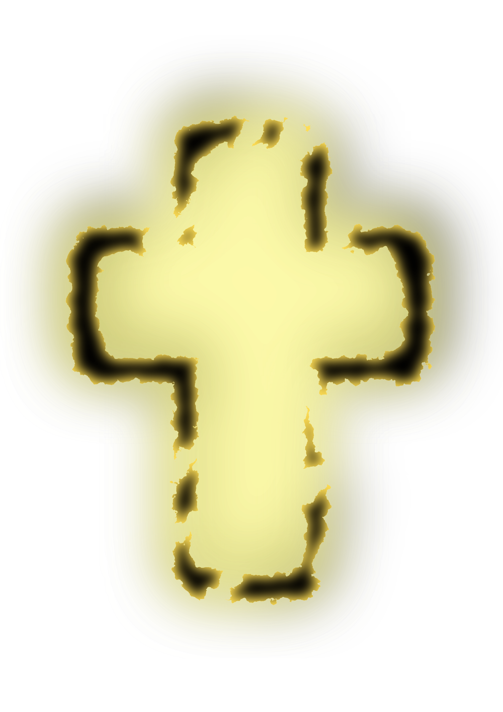 Glowing cross clipart svg royalty free library Clipart - glowing cross svg royalty free library