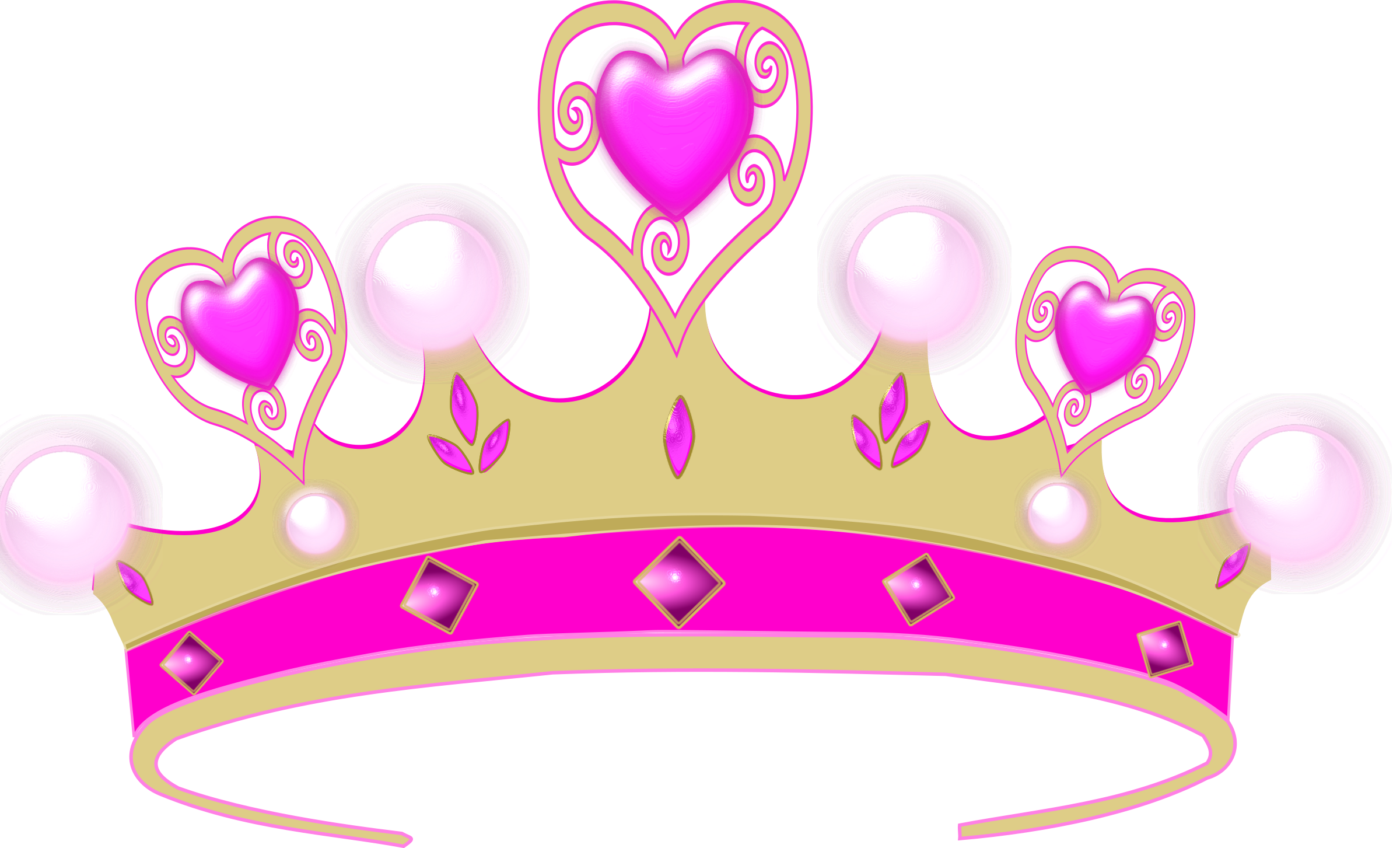 Crown images clipart vector library stock 28+ Collection of Pink Princess Crown Clipart | High quality, free ... vector library stock