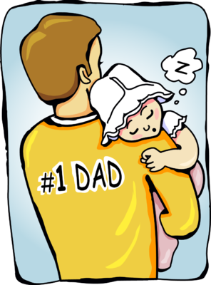 Baby daddy clipart images clip art royalty free library Image: Baby Sleeping On Fathers Shoulders   Christart.com clip art royalty free library