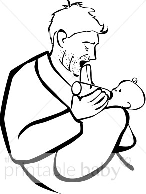 Tired dad clipart vector freeuse download Tired Dad Clipart | Father Clipart vector freeuse download