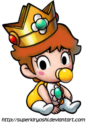 Baby daisy mario clipart graphic freeuse download Baby Daisy | ...It\'s time for animations... | Peach mario, Princess ... graphic freeuse download