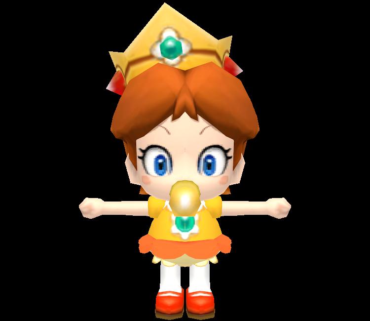 Baby daisy mario clipart clip art royalty free download Wii - Mario Kart Wii - Baby Daisy - The Models Resource clip art royalty free download