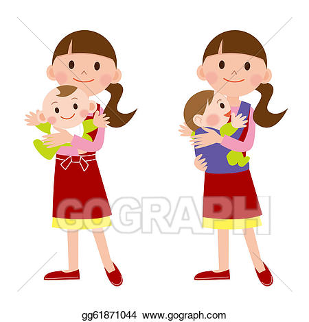 Baby day care clipart royalty free stock Stock Illustration - Child care. Clipart Illustrations gg61871044 ... royalty free stock