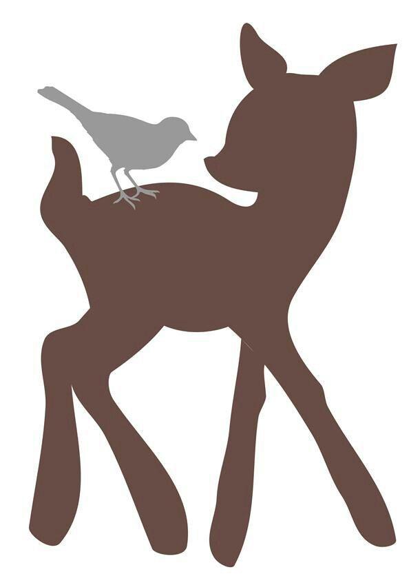 Baby deer clipart silhouette picture royalty free download Clipart.co | Big 3 Ideas | Baby deer, Deer silhouette, Kids wall decals picture royalty free download
