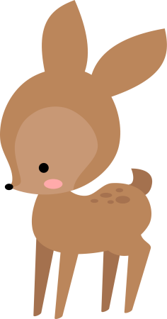 Baby deer pictures clipart png free library Baby deer clipart clipart images gallery for free download   MyReal ... png free library