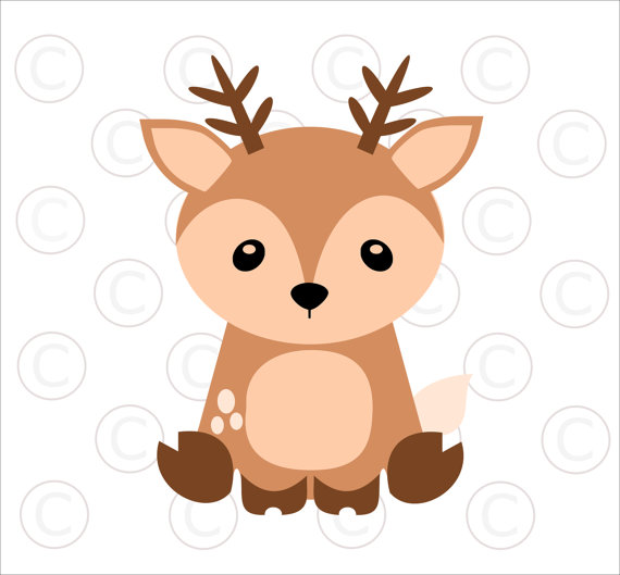 Woodland animal babies clipart clip art library Baby Deer Clipart | Free download best Baby Deer Clipart on ... clip art library