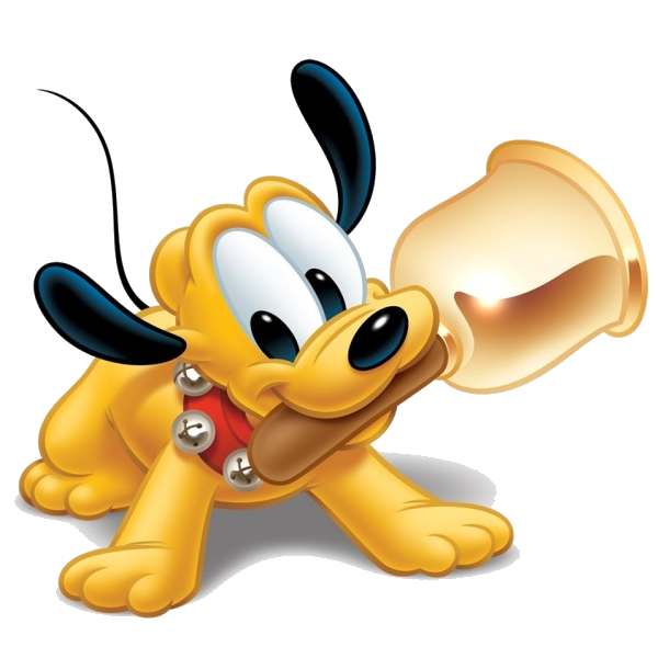 Dog clipart no background png royalty free download Disney Pluto The Dog Cartoon Clip Art Images On A Transparent ... png royalty free download
