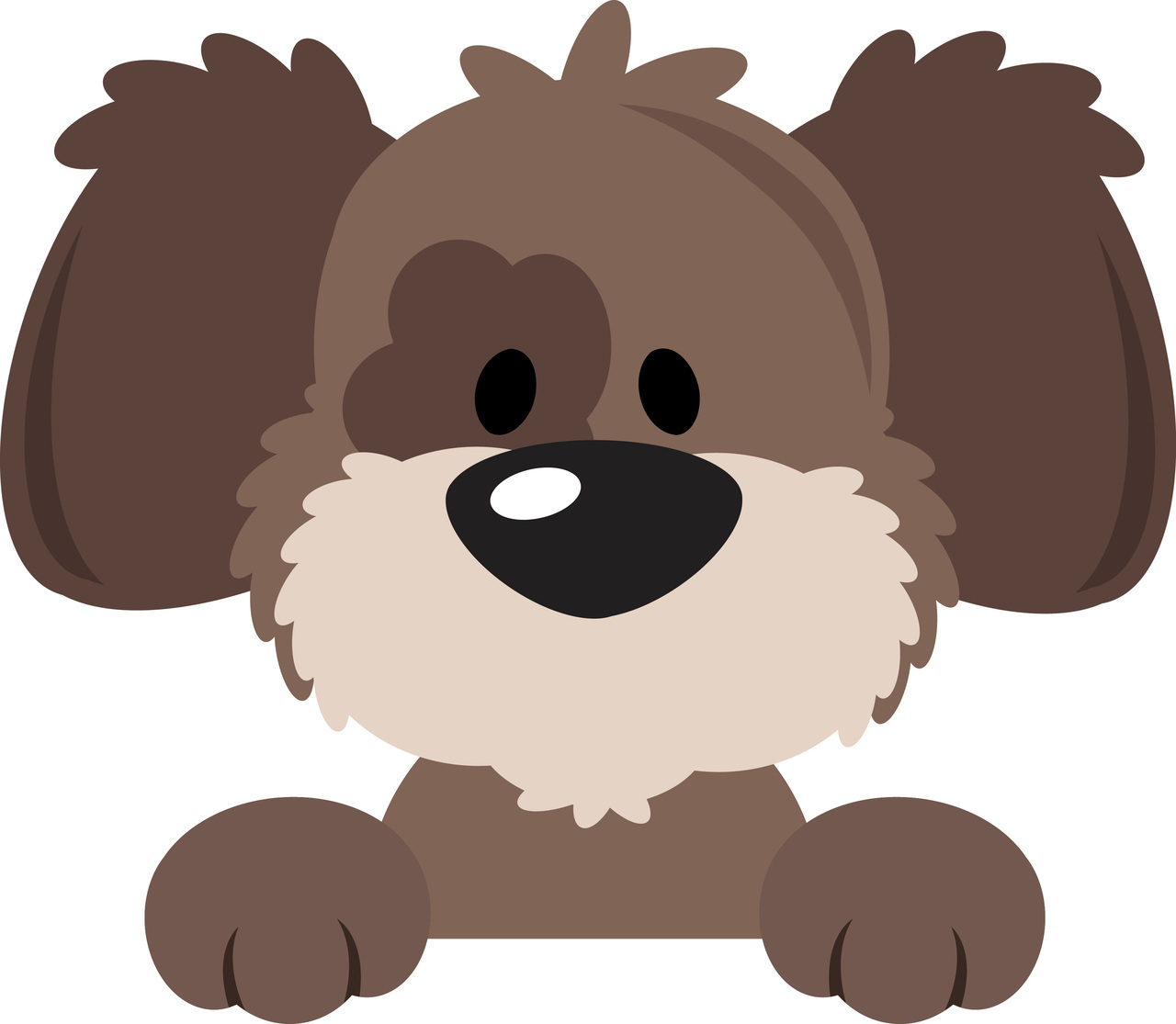 Baby dog clipart vector svg library library Dog Vector Clipart | Free download best Dog Vector Clipart on ... svg library library