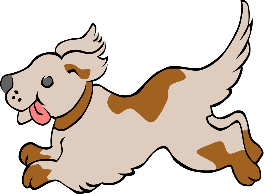 Baby dog clipart vector jpg download Free Dog Running Clipart, Download Free Clip Art, Free Clip Art on ... jpg download