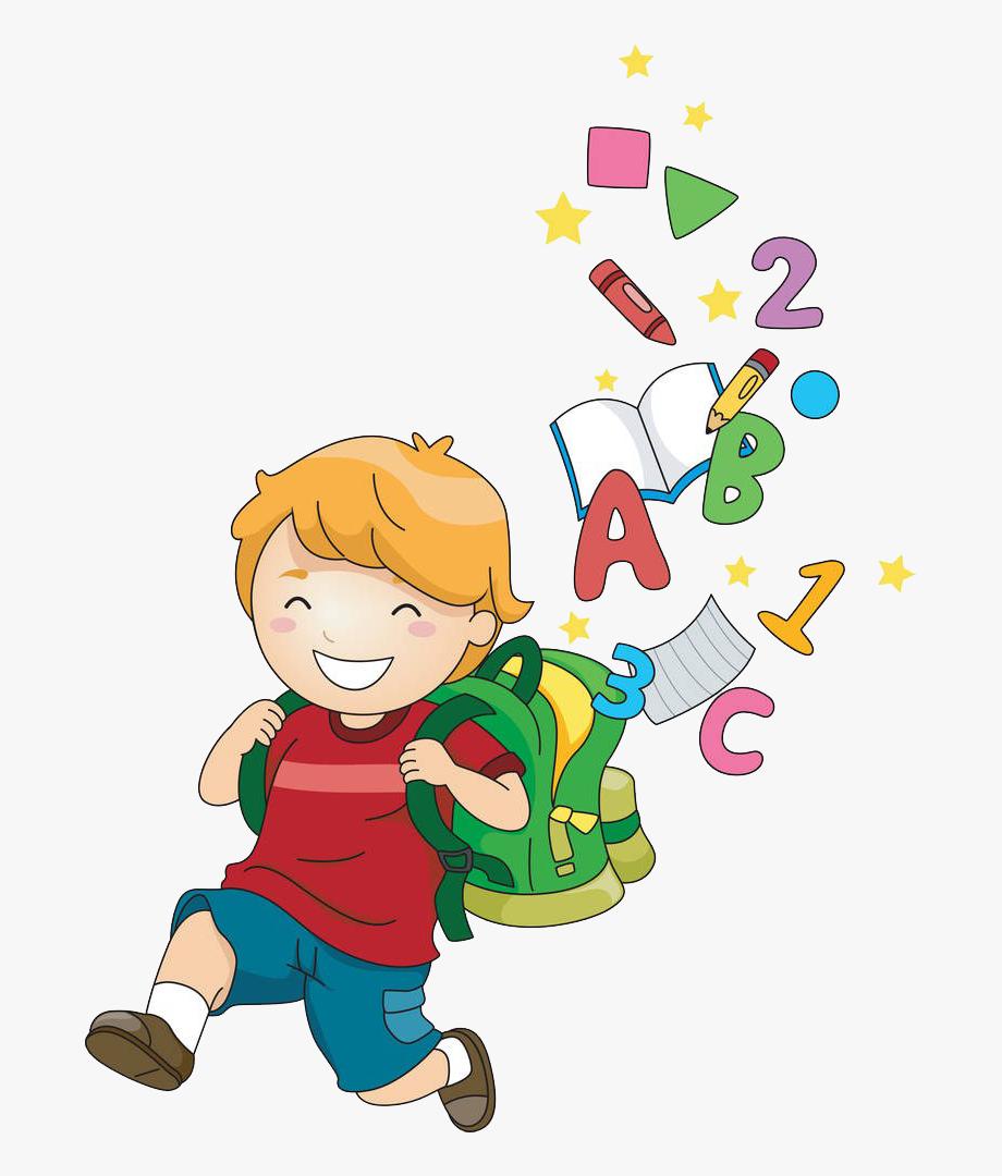 Baby doing art clipart banner free library School Child Cartoon Clip Art - School Children Clipart Png #973546 ... banner free library
