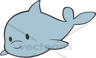 Baby dolphin clipart banner royalty free Baby Dolphin Whole body   Clipart Panda - Free Clipart Images banner royalty free