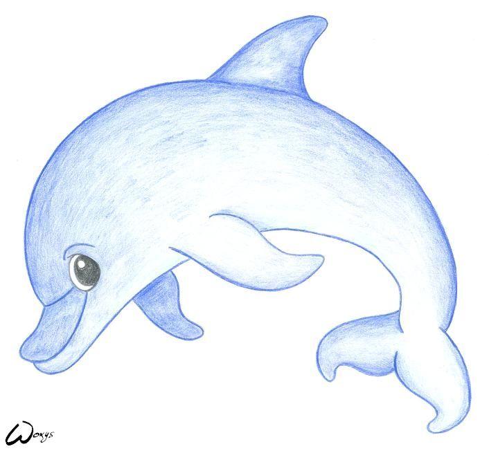 Baby dolphin clipart jpg free stock baby mermaid cartoons   Baby dolphin by woxys   cake ideas   Dolphin ... jpg free stock