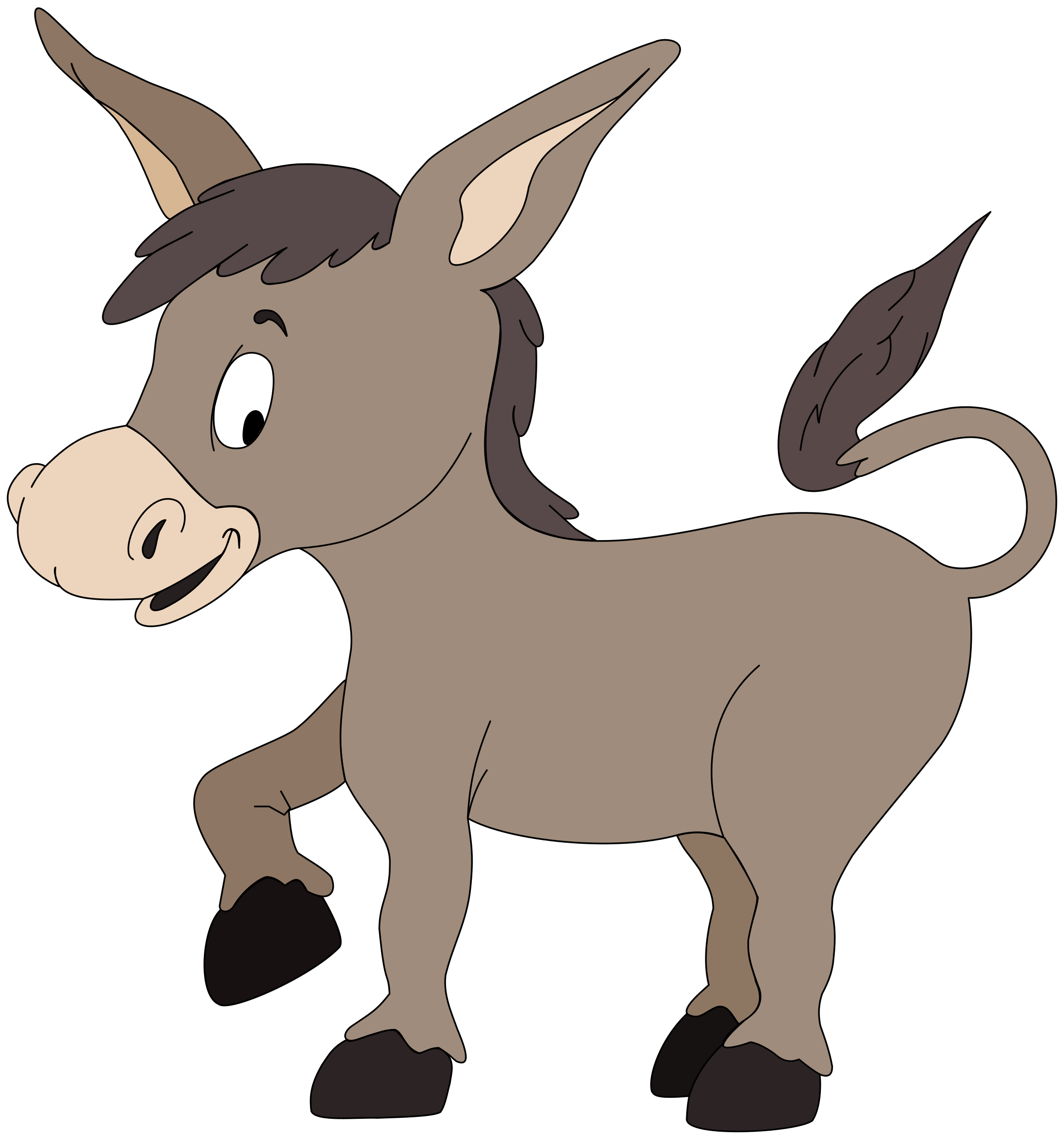 Baby donkey animals clipart graphic download Baby Donkey Cliparts - Cliparts Zone graphic download