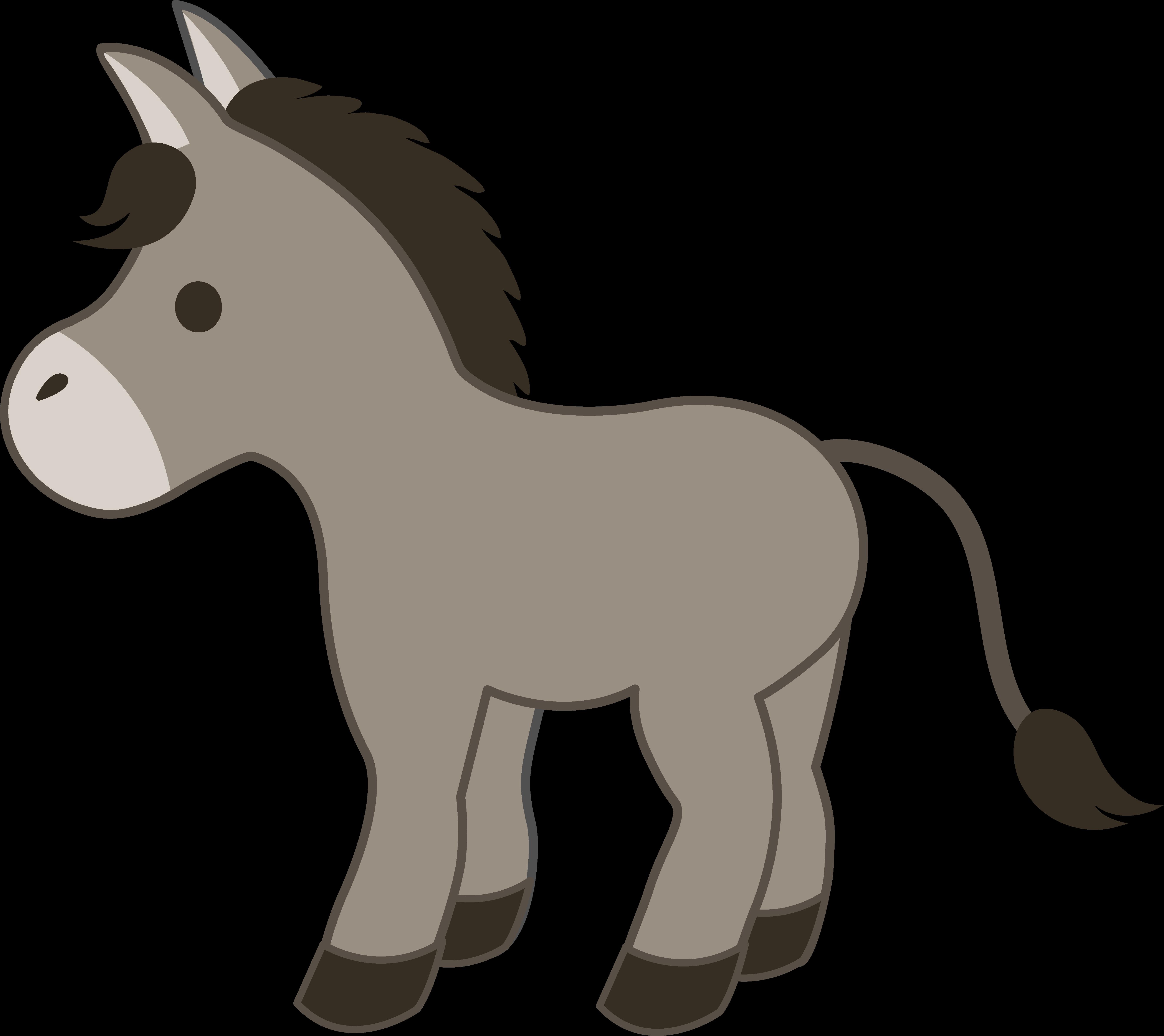 Baby donkey animals clipart clip royalty free library Baby Donkey Cliparts - Cliparts Zone clip royalty free library