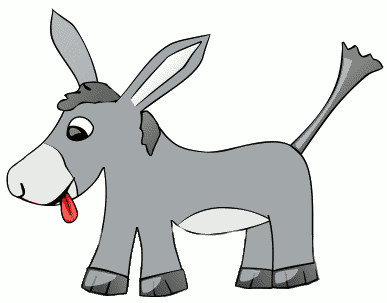 Baby donkey animals clipart clip transparent download Free Baby Animal Clipart - Clip Art Image 11 of 15 clip transparent download