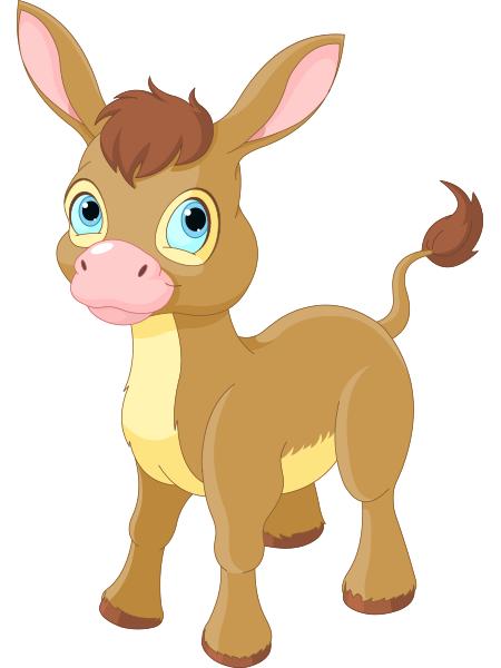 Baby donkey animals clipart clip art black and white library Donkey | FaceBook-Symbols-Emoticons | Cute donkey, Animal drawings ... clip art black and white library