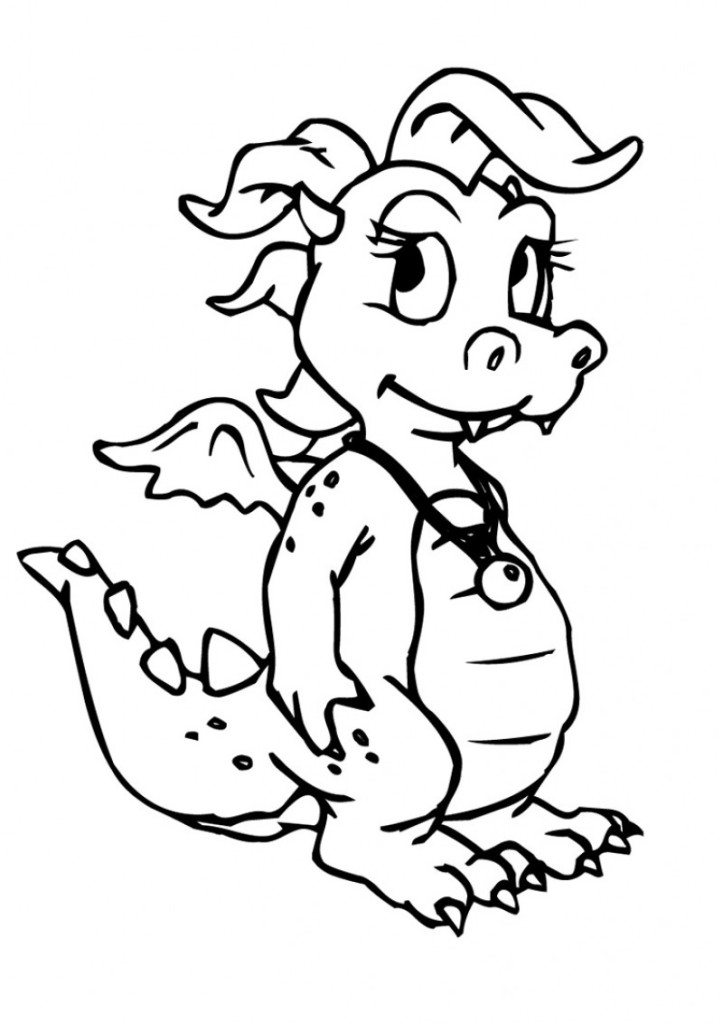 Baby dragon clipart black and white vector library library Free Cute Baby Dragon Pictures, Download Free Clip Art, Free Clip ... vector library library