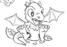Baby dragon clipart black and white svg library stock 132 Best Grandson3 images in 2019 | Baby dragon, Dragon art, Cute ... svg library stock