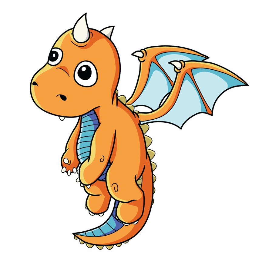 Baby dragons clipart stock Free Cartoon Baby Dragon Transparent Image Clipart - Cute Dragon ... stock