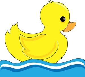 Baby duck images clipart svg Baby Duck Clip Art | Duck Clipart Image - Little Duck Bobbing Up and ... svg