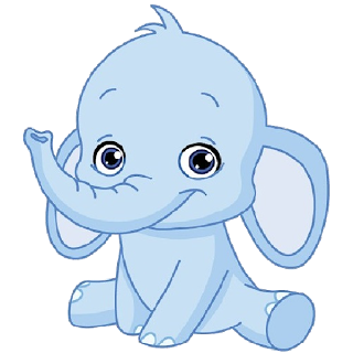 Baby elephant clipart cartoon png royalty free library Funny Baby Elephant - Elephant Images | Appliqué patterns for quilts ... png royalty free library