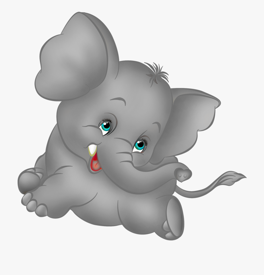 Baby elephant clipart cartoon clip library stock Grey Elephant Clipart - Baby Elephant Cartoon #5074 - Free Cliparts ... clip library stock