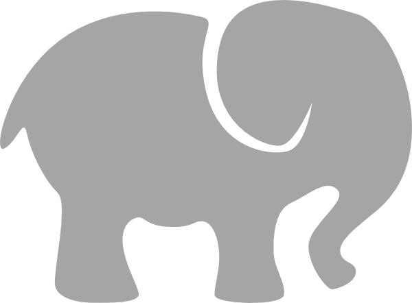 Grey baby elephant clipart png royalty free library Free Baby Elephant Clip Art Pictures - Clipartix png royalty free library